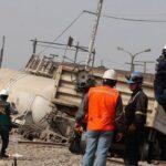 Chaclacayo: Dos heridos deja choque de tren con camión