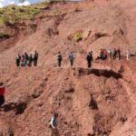 Derrumbe de cerro sepulta a6 mineros en la sierra norte de Perú