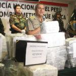 Policía presenta cerca de una tonelada y media de cocaína decomisada (VIDEO)