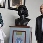 Universidad Bausate develó busto en honor a Melissa Alfaro