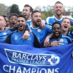 El increíble Leicester festeja el título en su ciudad deportiva