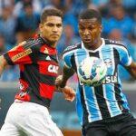 Gremio derrota 1-0 a Flamengo de Paolo Guerrero