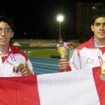 Peruanos McFarlene ganan oro y bronce en Iberoamericano de atletismo
