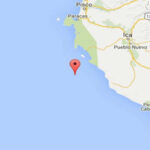 Un temblor de 4.3 de magnitud se registró en la región Ica