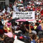 """Venezuela: Mujeres chavistas marchan en rechazo a """"violencia golpista"""""""
