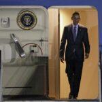 Obama llega a Japón para la cumbre del G7 y visitar Hiroshima