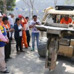La Victoria: Inician construcción de pistas y veredas en cerro El Pino