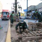 La Victoria: Realizan restauración de la avenida Manco Cápac