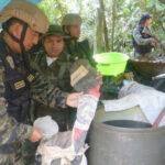 Vraem: Narcos utilizan cemento de construcción para elaborar droga