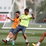 Champions: Real Madrid realizó último entrenamiento antes de viaje a Milán (VIDEO)