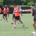 Copa América Centenario: Selección Peruana realiza última práctica en Washington