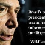 Wikileaks: Acusan a Michel Temer de haber sido informante de la CIA