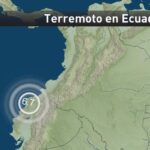 Sismo de 6.7 grados sacude de nuevo el noroeste de Ecuador