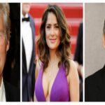 George Clooney, Salma Hayek y Richard Gere visitaron a Francisco