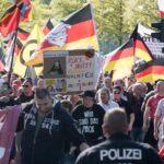 Ultraderechistas protestan en Berlín contra canciller Merkel