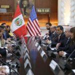 Perú afirma que relaciones con EEUU pasan por óptimo nivel