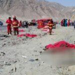 La Libertad: Despiste de ómnibus causa muerte de 15 personas