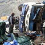 Bolivia: Mueren 17 personas en un accidente de autobús