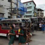 Tailandia: Mueren 11 personas al arder furgoneta en que viajaban