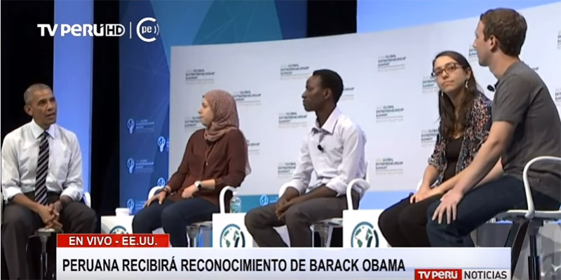 Costa con Obama