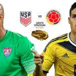 Copa América Centenario: Estados Unidos vs Colombia en partido inaugural