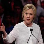 Clinton advierte: los derechos de las mujeres corren peligro con Trump