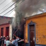 La Victoria: Entre escombros hallan una persona muerta tras incendio en quinta