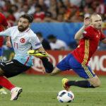 Eurocopa Grupo D: España clasifica a octavos al golear 3-0 a Turquía