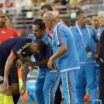 Lesión de James Rodríguez tiene a Colombia con el corazón en la boca