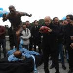 Inauguran estatua en homenaje a Messi en Buenos Aires