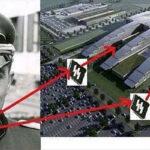 Increíble parecido entre la nueva sede de la OTAN y un símbolo nazi