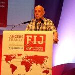 Philippe Leruth, el periodista elegido nuevo presidente de la FIP