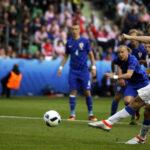 Eurocopa Grupo D: República Checa y Croacia empataron 2-2