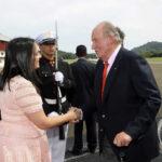 Panamá: Rey Juan Carlos llega para inauguración del canal ampliado