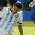 Ángel di María tiene un desgarro y podría perder el resto de la Copa América
