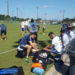 Argentina realiza último entrenamiento en Houston con miras al choque con Chile