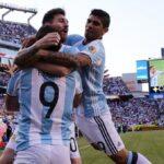 Instagram: Mira esta curiosa foto de la selección argentina en vestuario