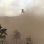 Chile: Inusual tormenta de arena deja cuantiosos daños en Arica