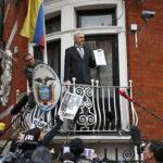 Assange cumplió  4 años refugiado en la embajada ecuatoriana en Londres