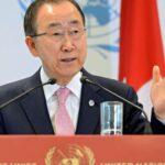 Ban Ki-moon: Cese al fuego fortalece camino de la paz (VIDEO)