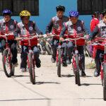Minedu: 400 escolares de zonas rurales podrán ir al colegio en bicicleta