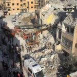 Aliados, rusos y ejército sirio atacan al Estado Islámico, 42 civiles mueren