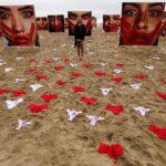 Brasil: Protestan sembrando bragas por violaciones sexuales