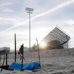 Brasil: Hallan cadáver descuartizado cerca del estadio de beach voley