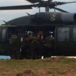 Colombia: Encuentran en Caldas helicóptero del Ejército desaparecido