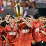 Chile: Apoteósico recibimiento a campeones de Copa América Centenario