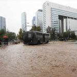 Chile: Temporal de lluvias se disipa pero se anuncia onda de frío polar