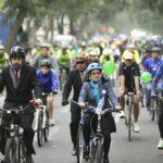 San Isidro realiza campaña para promover uso de la bicicleta