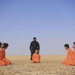 """Estado Islámico decapitó a cinco acusados de """"espiar para los cruzados"""""""