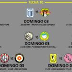 Segunda División: Programación, hora y sedes de la fecha 10